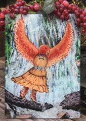 Hawk Woman Cutting Board