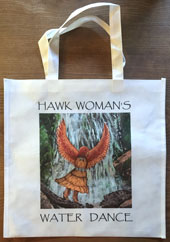 Hawk Woman Note Cards in a box